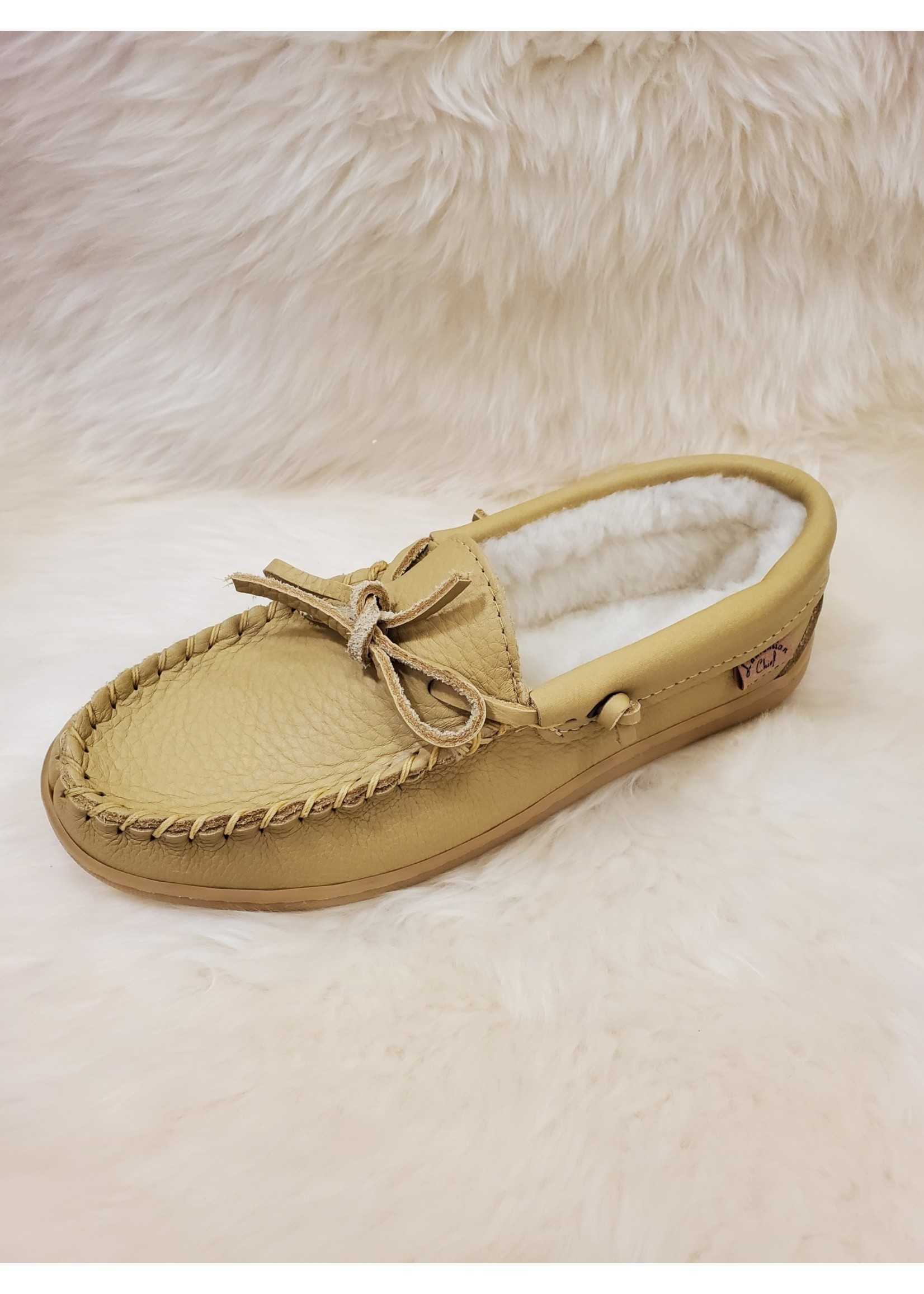 LAURENTIAN CHIEF LEATHER DRIVING MOCCASIN 41121M