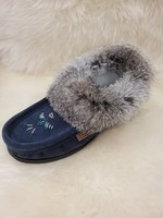 LAURENTIAN CHIEF SUEDE SLIPPERS 12568L