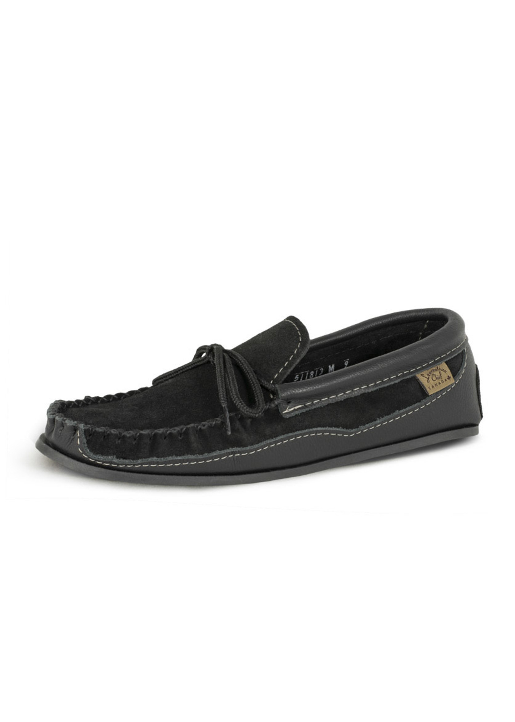 LAURENTIAN CHIEF SUEDE/LEATHER MOCCASINS 511813M