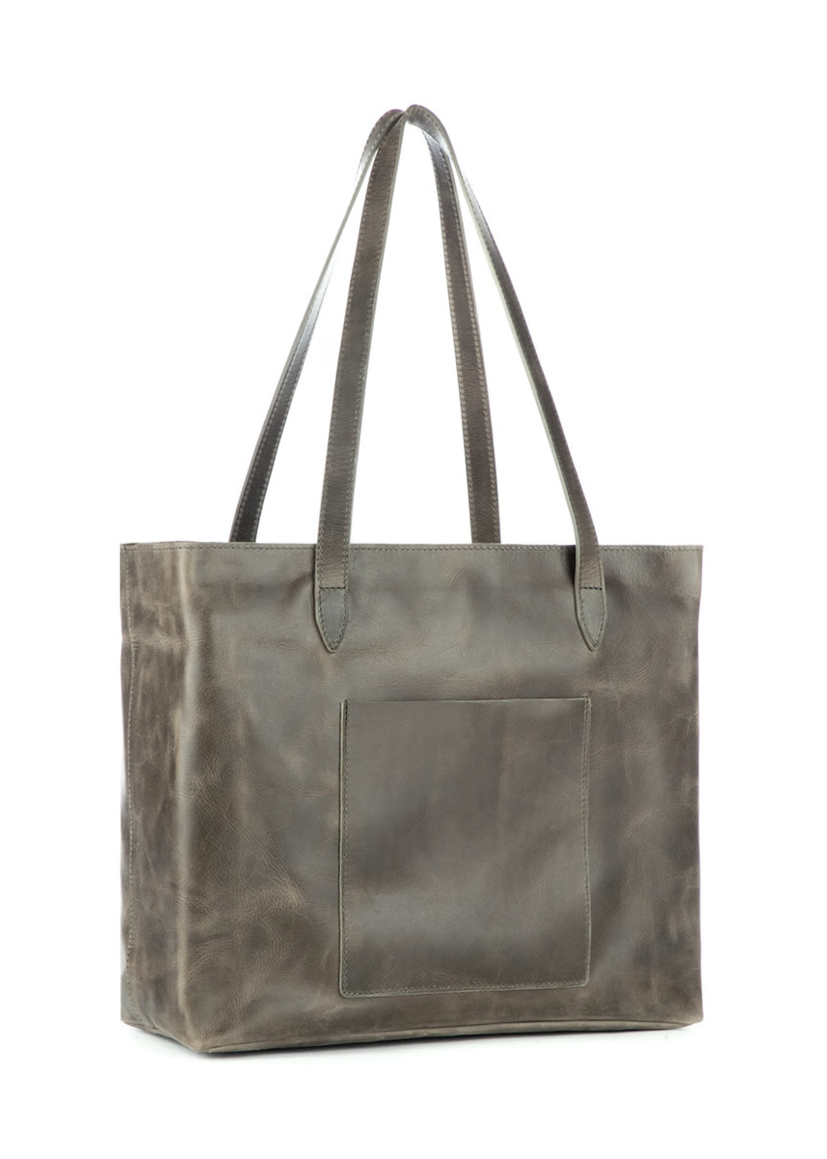 BRAVE LEATHER HUDSON TOTE