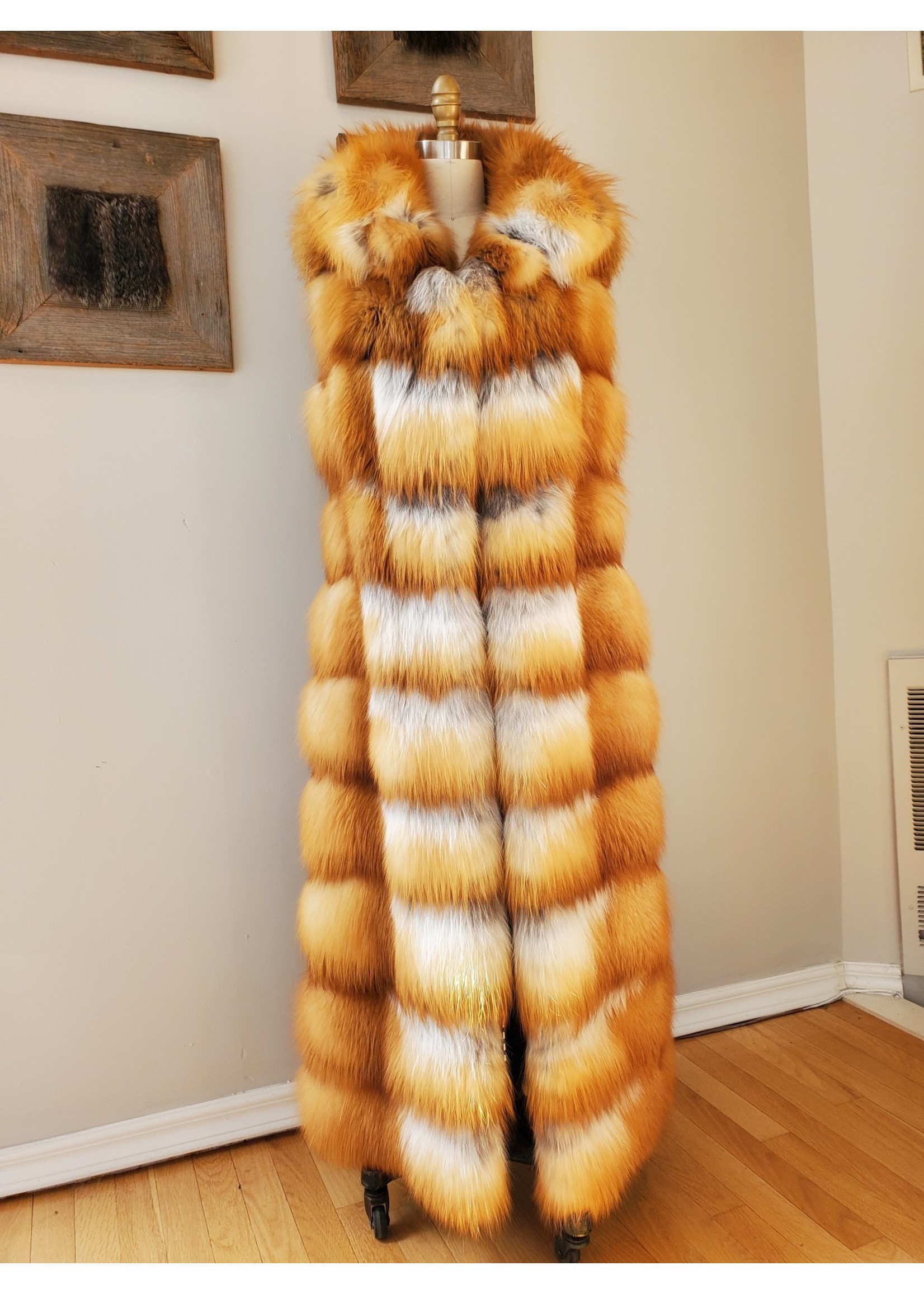 GIANFRANCO FERRÉ LONG FUR VEST