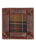Barbour VALET TRAY - TARTAN & LEATHER