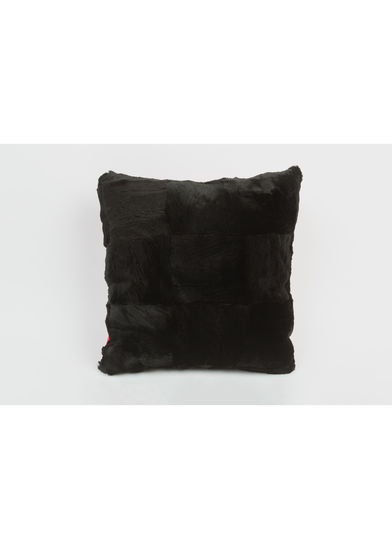 """FURTHER UPCYCLED PARQUET FUR PILLOW  18""""x18"""""""
