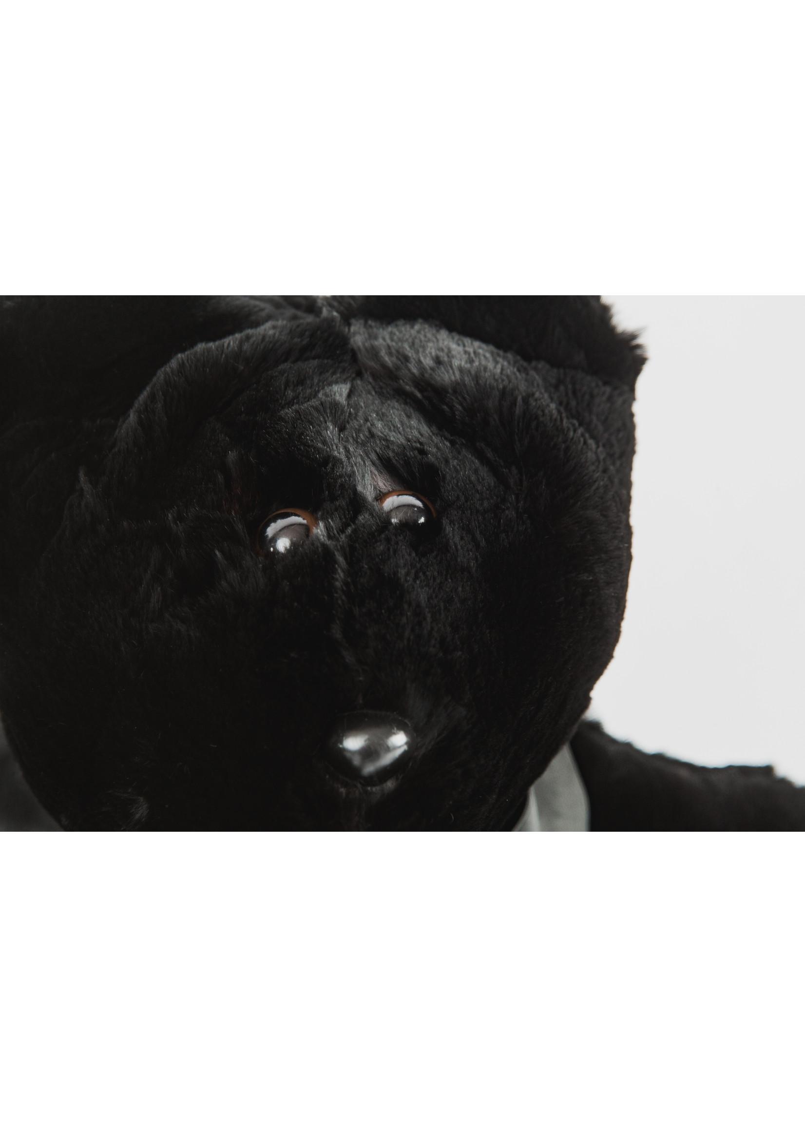FURTHER UPCYCLED FUR TEDDY BEAR - JASPER