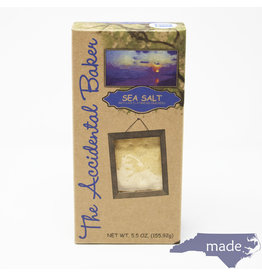 Accidental Baker Sea Salt Flatbread Crackers
