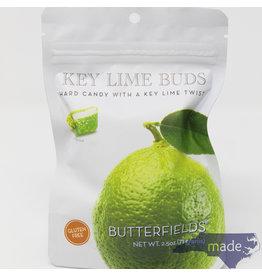 Butterfields Candy Key Lime Buds 2.5 oz. Peg Bag