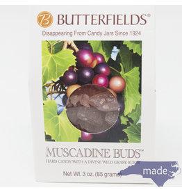 Butterfields Candy Muscadine Buds 3 oz. Box