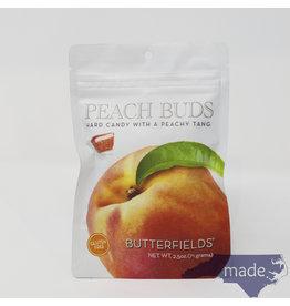 Butterfields Candy Peach Buds 2.5 oz. Peg Bag