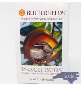 Butterfields Candy Peach Buds 3 oz. Box