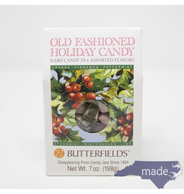 Butterfields Candy Old Fashioned Holiday Candy 7 oz. Box