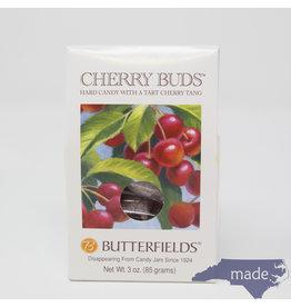 Butterfields Candy Cherry Buds  3 oz. Box