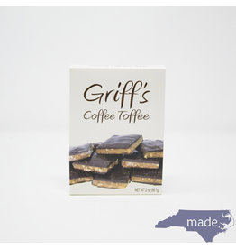Chapel Hill Toffee Griff's Coffee Toffee 2 oz.
