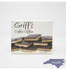 Chapel Hill Toffee Griff's Coffee Toffee 7oz