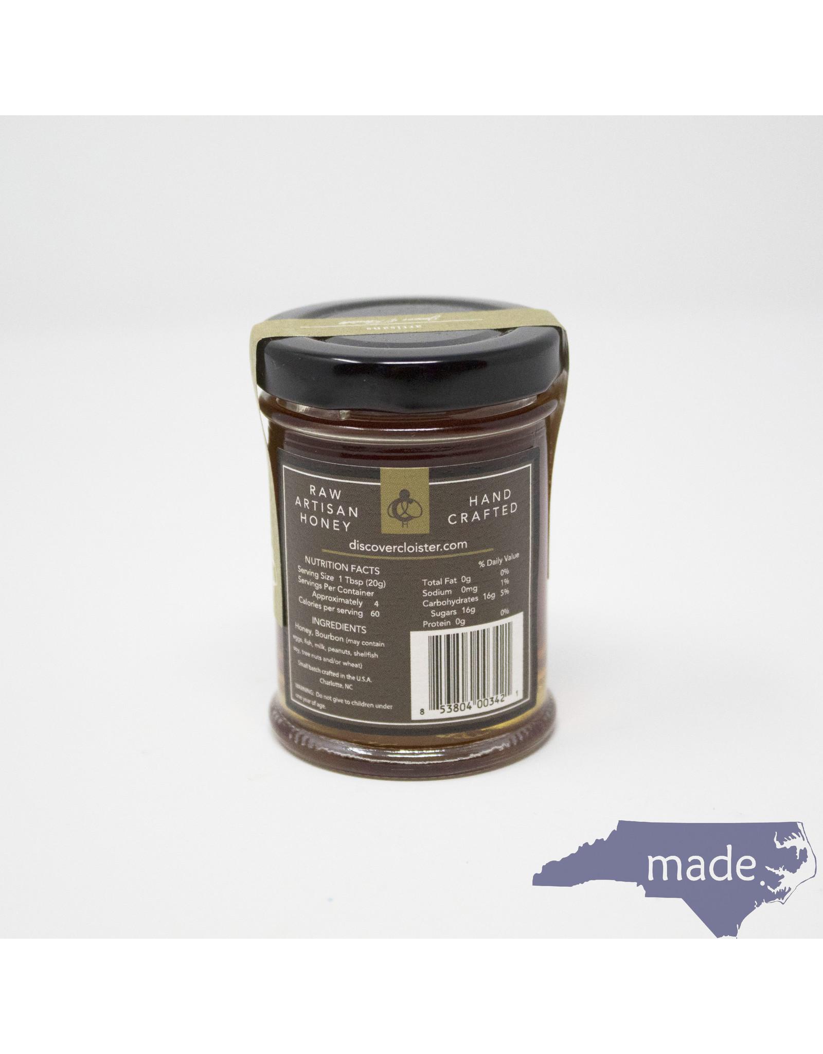 Cloister Honey Bourbon Infused Honey 3 oz.  - Cloister Honey