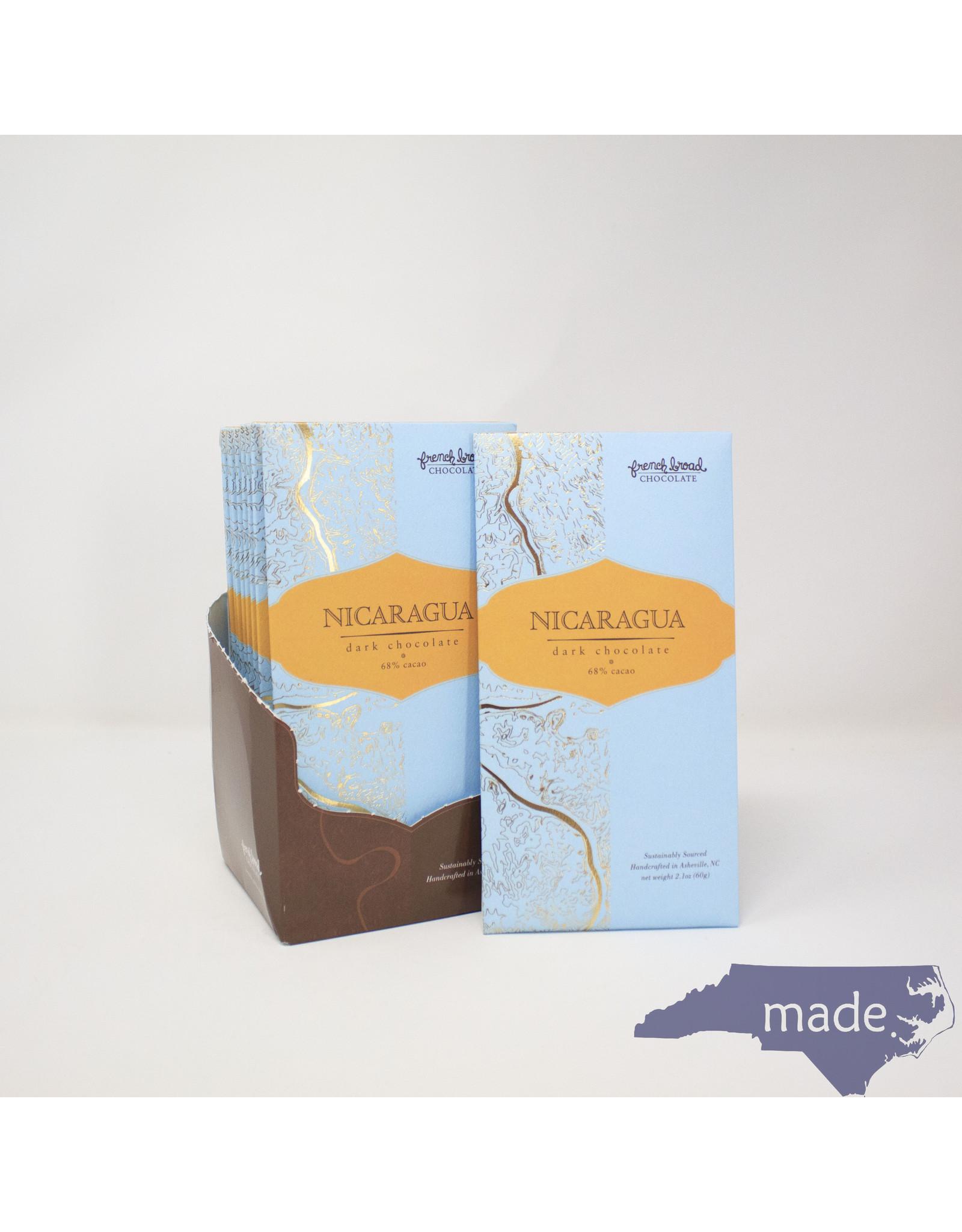 French Broad Chocolate Nicaragua Dark Chocolate - French Broad Chocolate