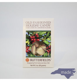 Butterfields Candy Old Fashioned Holiday Candy 3 oz. Box