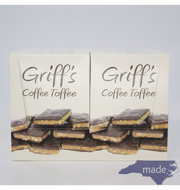 Chapel Hill Toffee 12-pk of Griff's Coffee Toffee (2 oz.)
