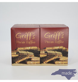 Chapel Hill Toffee 12-pk of Griff's Pecan Toffee (2 oz.)