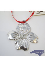 House of Morgan Pewter Dogwood Ornament - House of Morgan Pewter