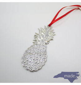 House of Morgan Pewter Pineapple Ornament