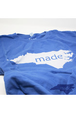 Pass The Gravy Made In NC T Shirt Blue Small - Pass The Gravy