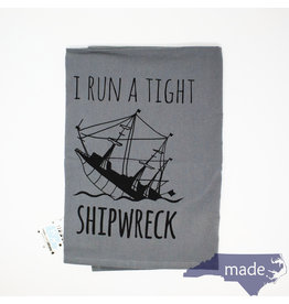 Moonlight Makers Tight Shipwreck Dish Towel