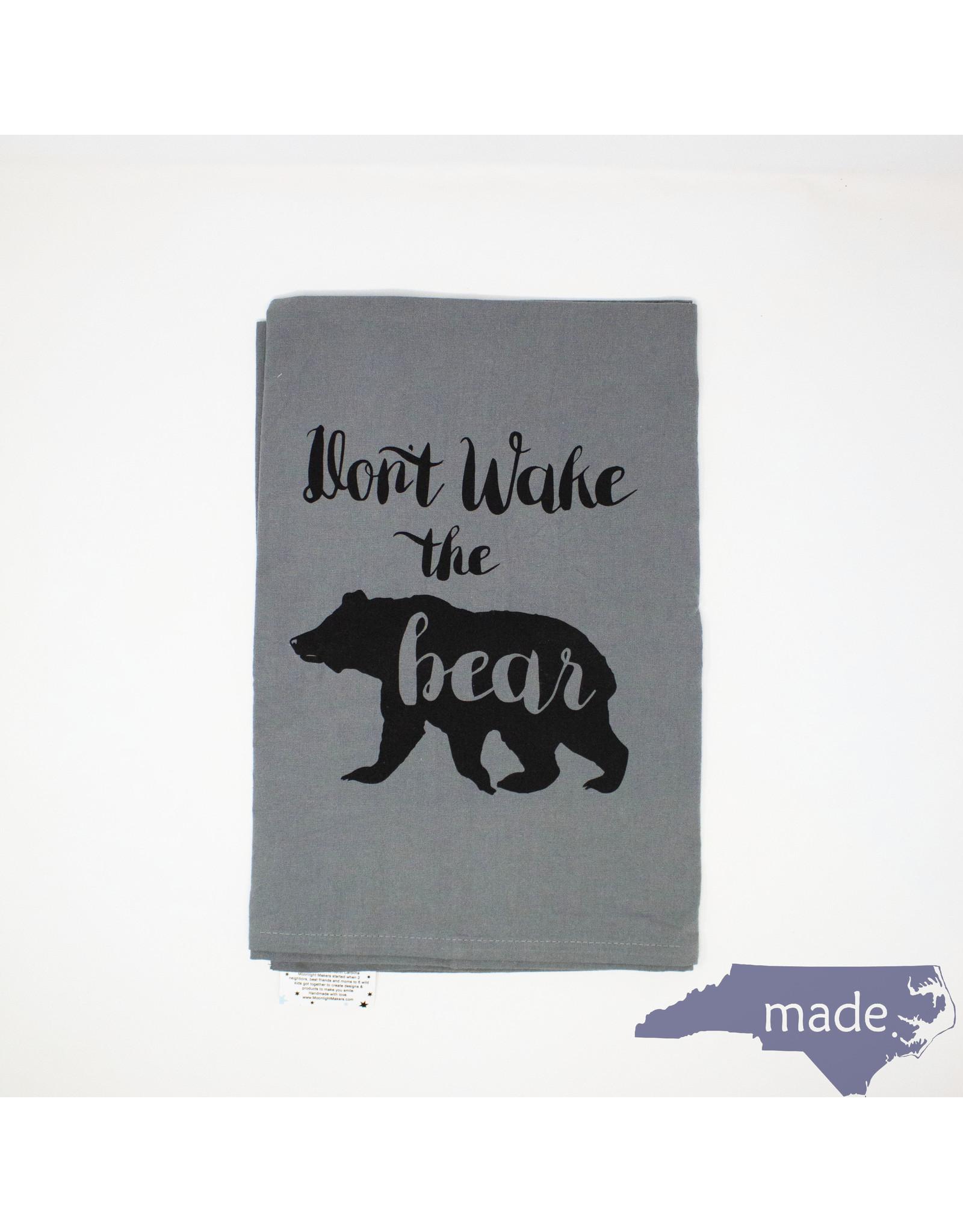 Moonlight Makers Don't Wake the Bear Dish Towel - Moonlight Makers