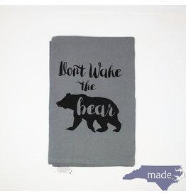 Moonlight Makers Don't Wake the Bear Dish Towel