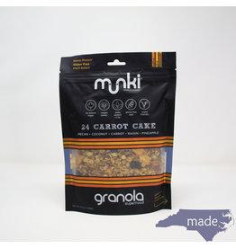 Munki Food 24 Carrot Cake Superfood Granola