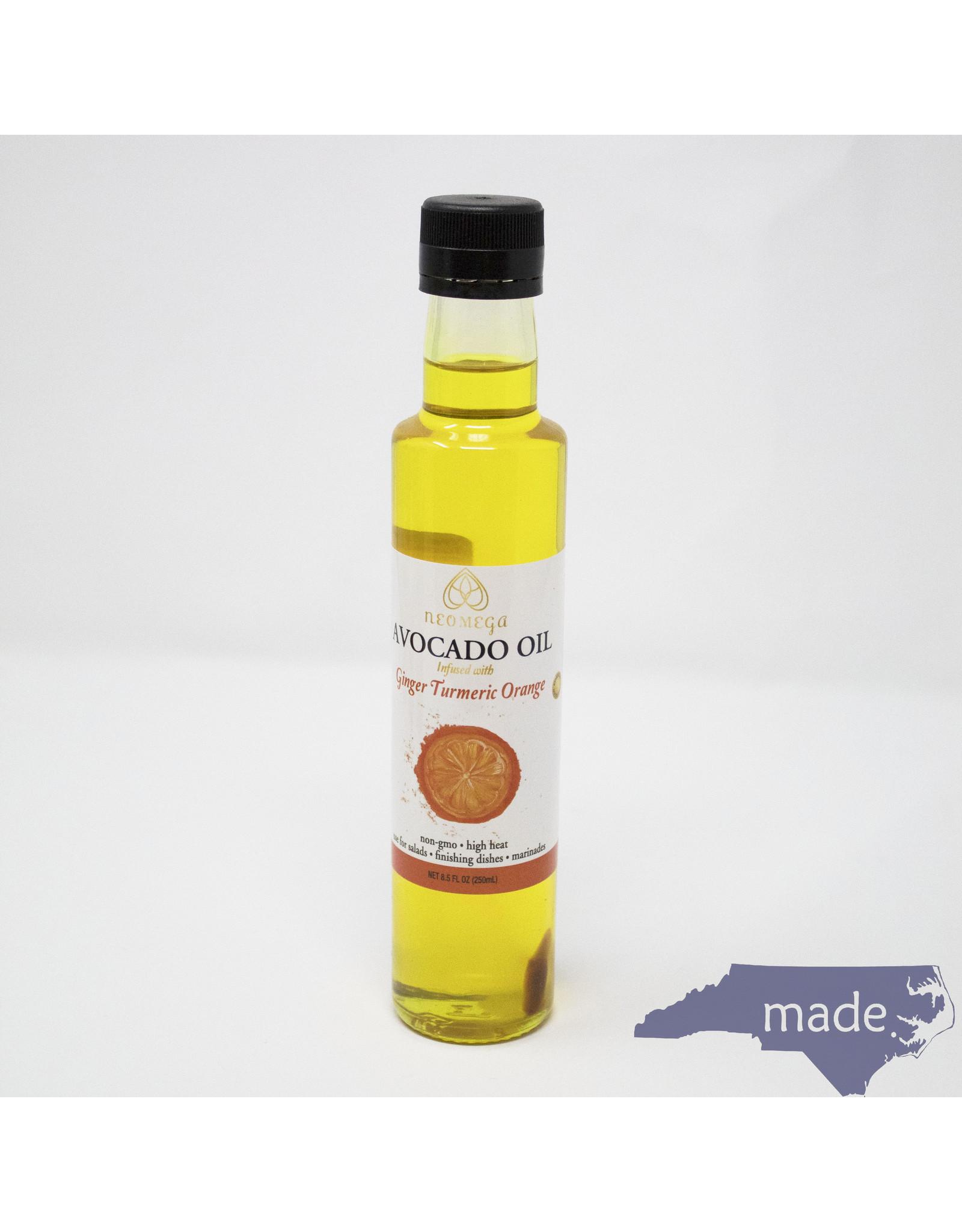 Neomega Ginger Turmeric Orange Avocado Oil 8.5 oz. - Neomega