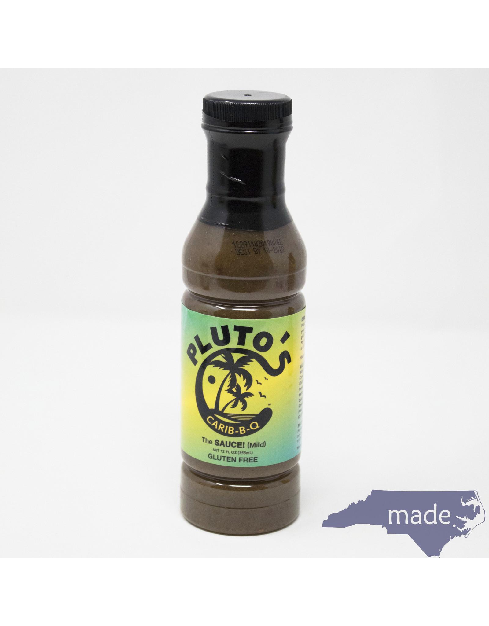Pluto's Carib-B-Q Mild Sauce 12 oz. - Pluto's