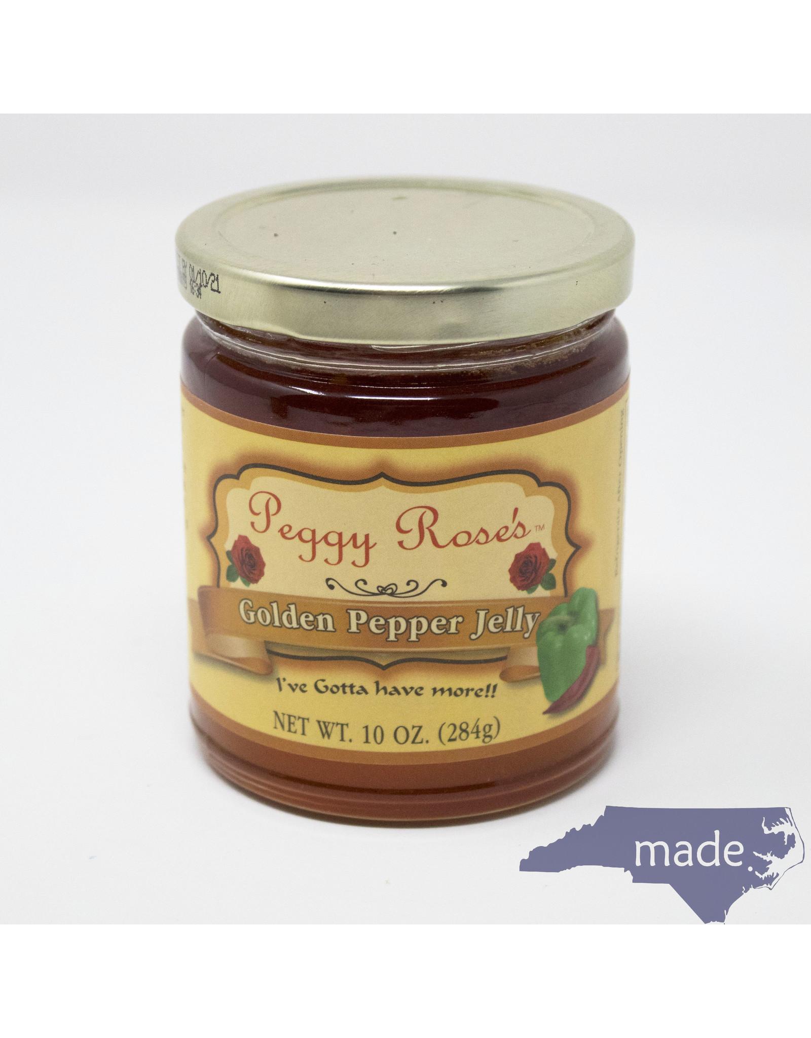 Peggy Rose's Golden Pepper Jelly - Peggy Rose's