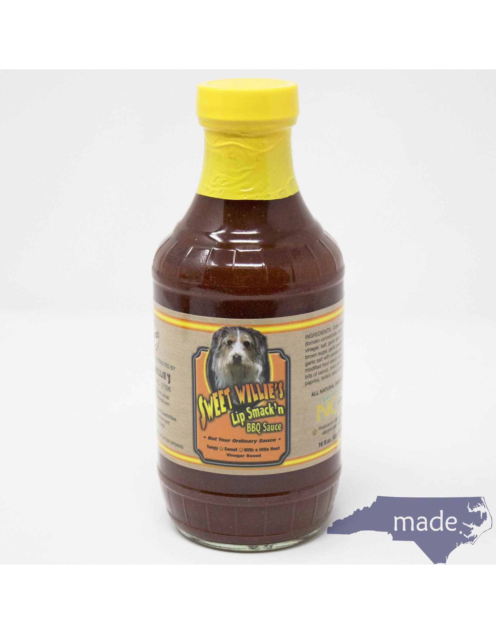 Sweet Willie's Lip Smack'n Sauce - Sweet Willie's