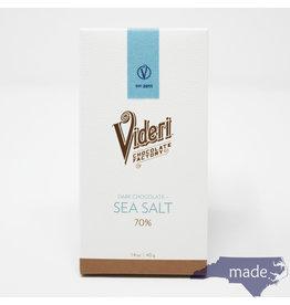 Videri Chocolate Factory Sea Salt & Classic Dark Chocolate