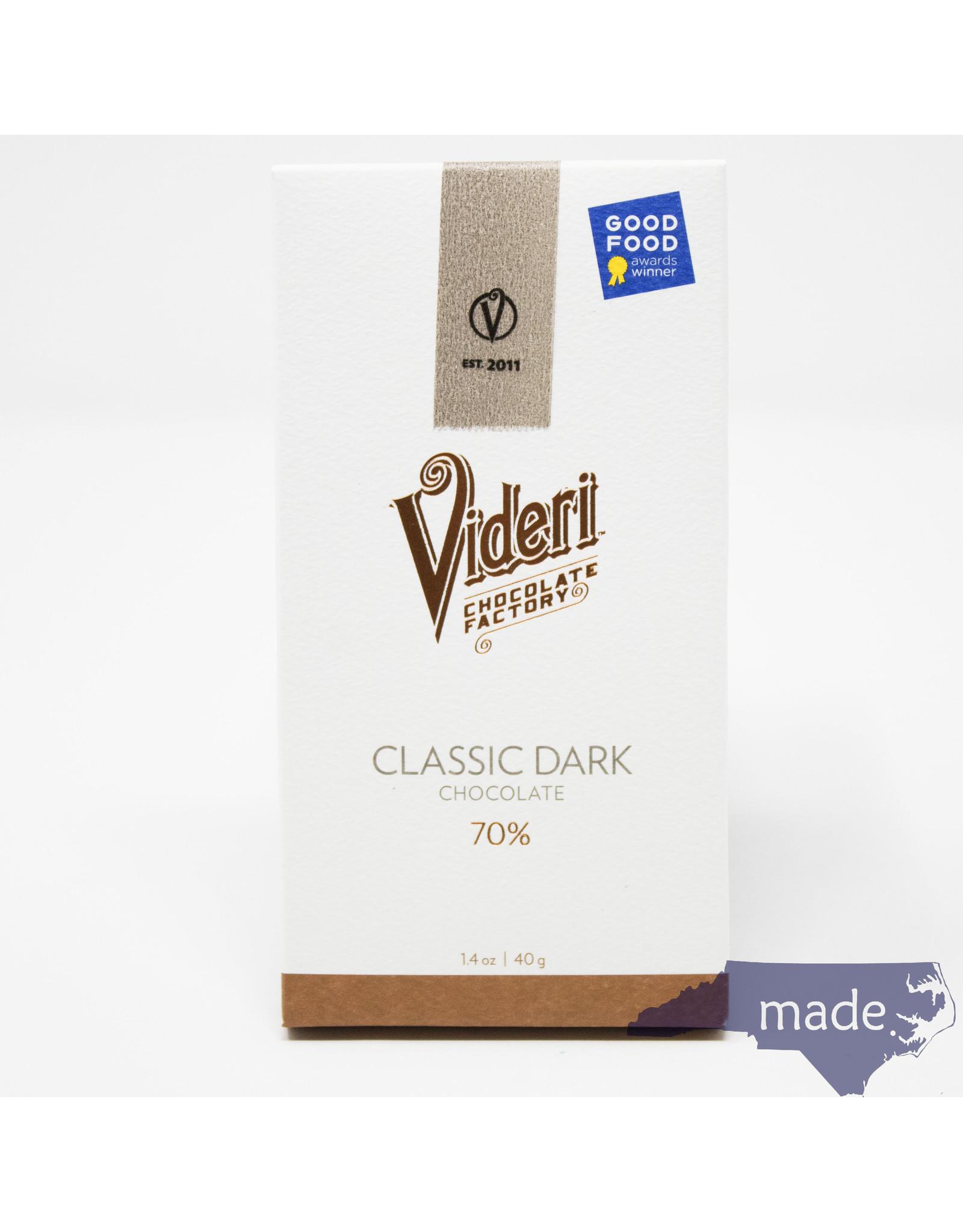 Videri Chocolate Factory Classic Dark Chocolate - Videri Chocolate Factory Bar