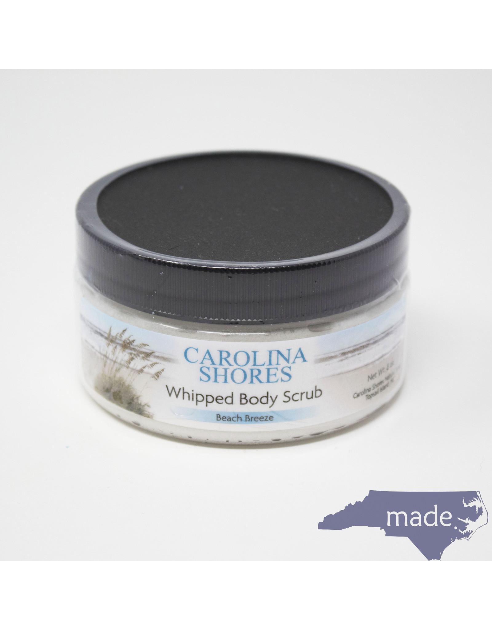Carolina Shores Natural Soap Hand Whipped Body Scrub 8 oz. - Carolina Shores