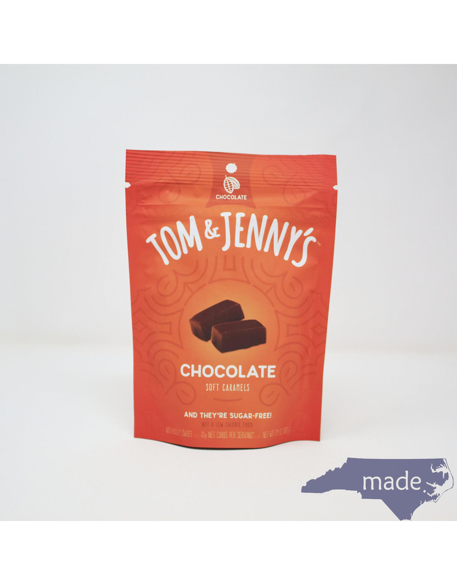 Tom & Jenny's Chocolate Soft Caramels - Tom & Jenny's