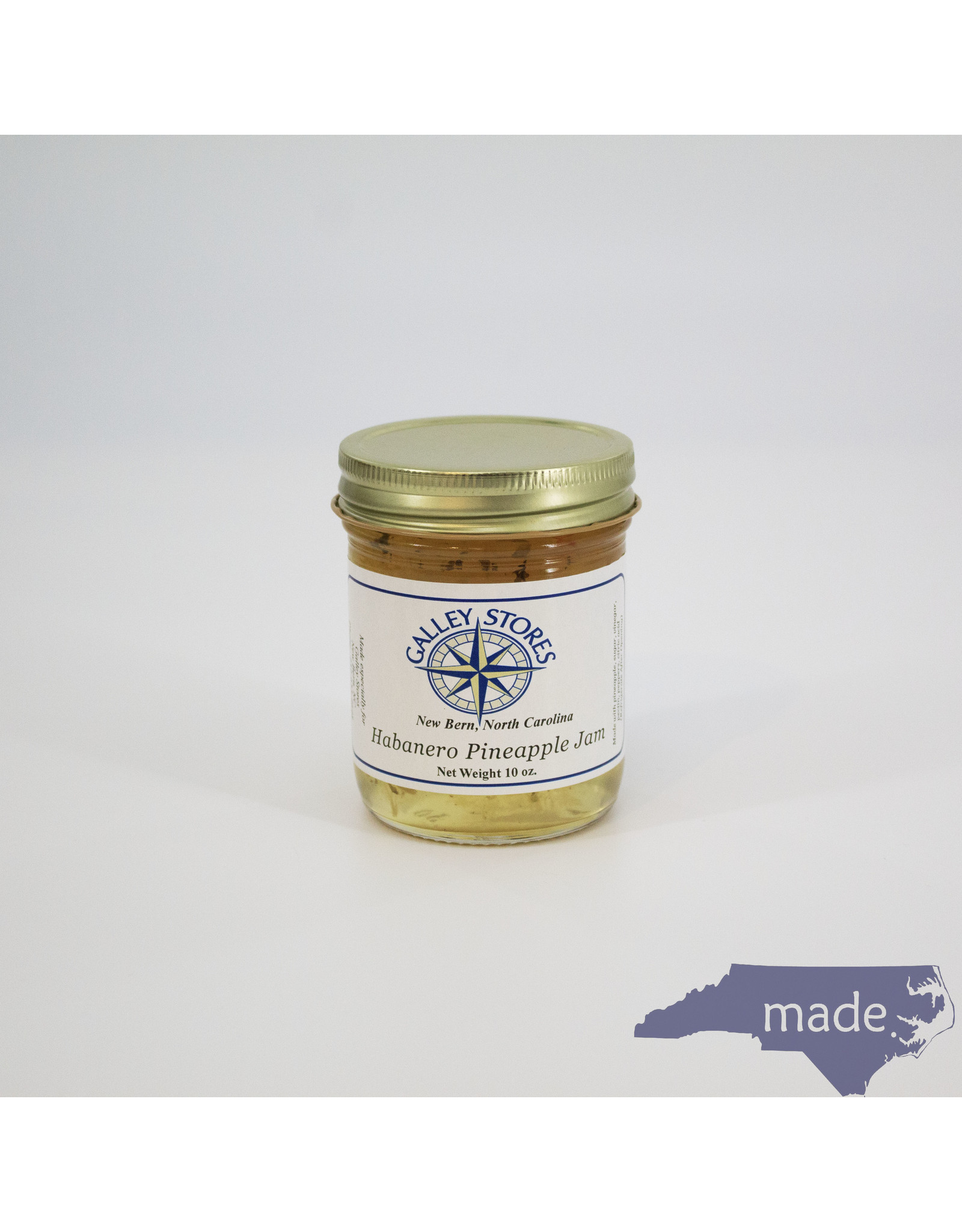 Galley Stores Habanero Pineapple Jam 10 oz. - Galley Stores