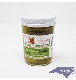 Fogwood Food Sweet Crisp Pickles 8 oz. Jar