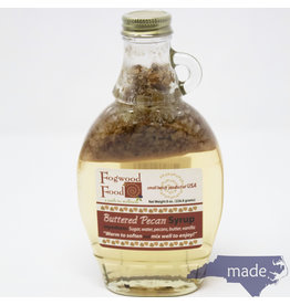 Fogwood Food Buttered Pecan Syrup 8 oz. Jar