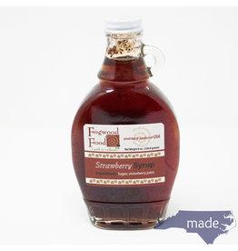 Fogwood Food Strawberry Syrup  8 oz. Jar