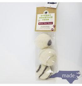 Stoney Mountain Wool Pet Toys
