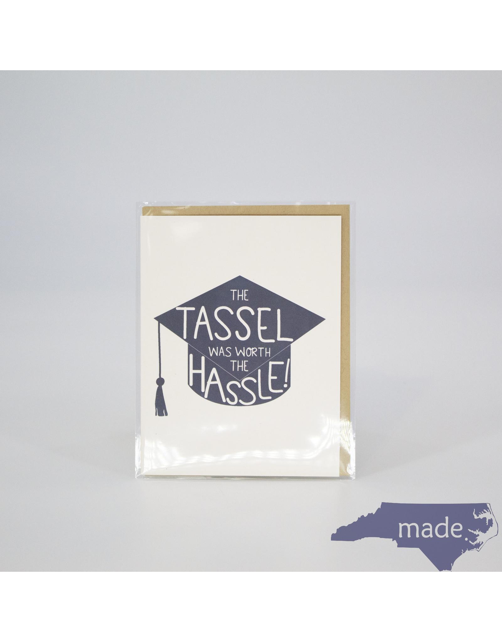 Little Lovelies Tassel Worth the Hassle Card - Little Lovelies