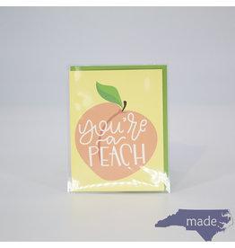 Little Lovelies You're a Peach Card