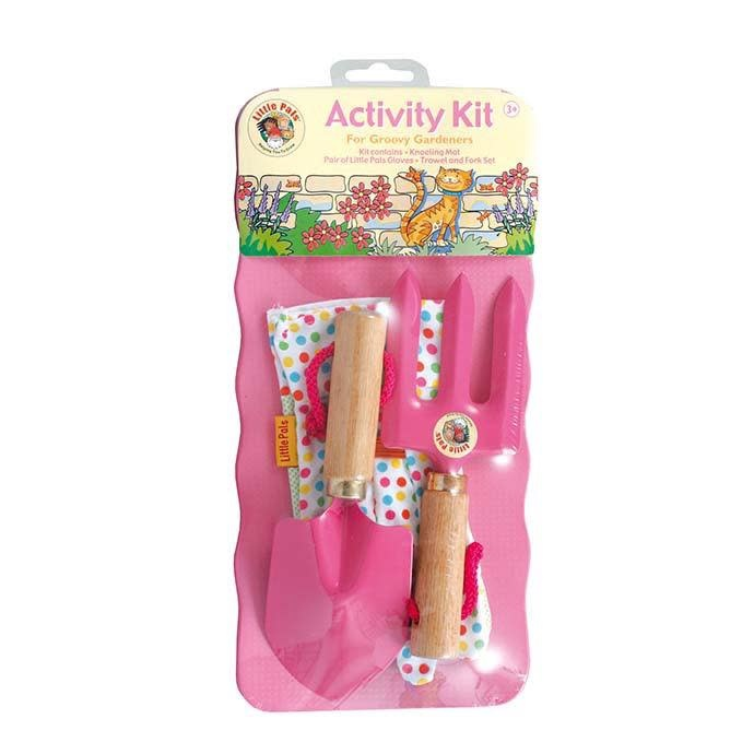 Little Pals Activity Kit - Pink/Green