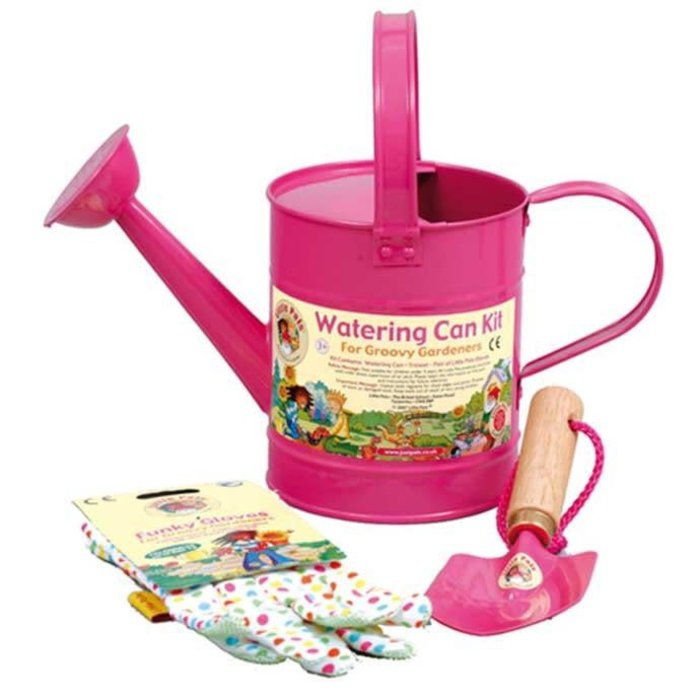 Little Pals Watering Can Kit - Pink