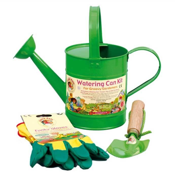 Little Pals Watering Can Kit - Green
