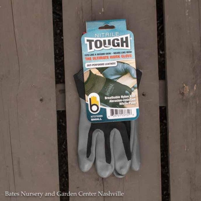 Bellingham Gloves Nitrile Tough Small Black