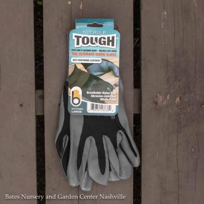 Bellingham Gloves Nitrile Tough Large Black