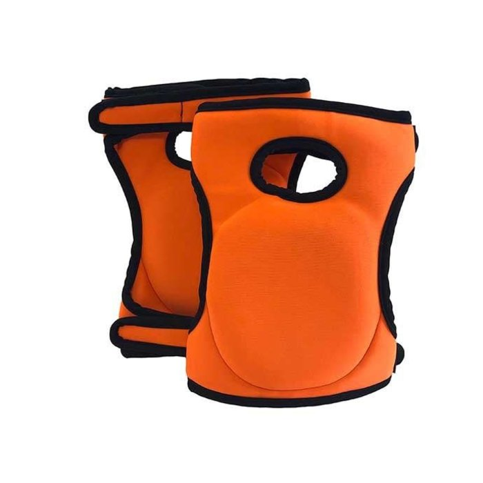 Knee Pads Orange Foam 1pair